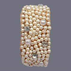 Featuring this beautiful hand weaved pearl bracelet in our wide range of Bracelets. Grab yourself one. Now!