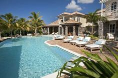 (CREDITS: Tripadvisor)  Ten Holiday Villas With Beautiful Swimming Pools:  A La Mer at Great Cruz Bay, St. John (This new two-storey villa has an expansive private pool as well as its own faux white-sand beach. It also boasts artistic stonework, numerous bedrooms and bathrooms not to mention a private roofed patio. Sleeps nine. From £24,288 per week)