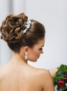 Woman's hair is a symbol of her personality, strength, beauty so it should be no different on her wedding day. From elegant updo's to beach waves, find inspiration from these beautiful wedding hairstyles for your big day.