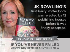 Famous Failures - JK Rowling