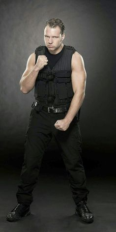 Dean Ambrose Looks So BADA$$ IN THIS PIC<3<3<3<3