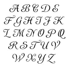 Fancy Lettering Alphabet, Caligraphy Alphabet, Tattoo Lettering Fonts, Fancy Letters, Bubble Letters, Pretty Fonts Alphabet, Graffiti Alphabet, Penmanship, Tattoo Fonts Alphabet