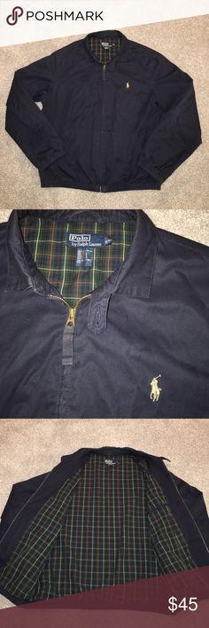 POLO Ralph Lauren L POLO Ralph Lauren L zip up jacket   Great condition! Navy Blue Polo by Ralph Lauren Jackets & Coats Lightweight & Shirt Jackets
