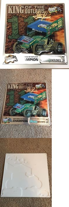 Racing-NHRA 2878: 2002 Quaker State Racing Limited Edition Steve Kinser Garage Sign (O Reilly) -> BUY IT NOW ONLY: $100 on eBay!