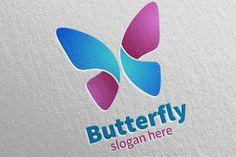 Butterfly Logo vol 11 denayunedb Graphics Logos