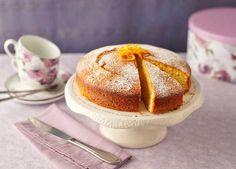 This orange yogurt cake is moist, zesty and versatile – it can make a dozen fairy cakes, if you prefer