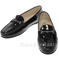 トッズ ローファー エナメル GOMMA フラット レディースサイズ39 TOD'S 靴 パンプス