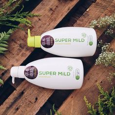 Dear Nature Lovers Buy Super Mild Green Shampoo for fresh-smelling hair all day.