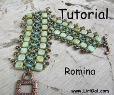 Tutorial Romina SuperDuo and Tila Beadwork Bracelet PDF. $8.00, via Etsy.