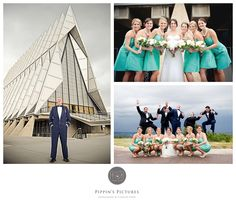 Pippins Pictures Photography {An Air Force Academy Wedding}