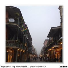 Royal Street Fog, New Orleans, Louisiana Photo Print from the BonVivantNOLA Shop.