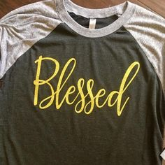 Ladies Blessed Raglan