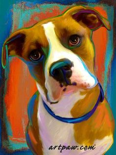 Your pets are your best friends and there is no better way to immortalize them than with a custom portrait! You get to be involved in the design process,