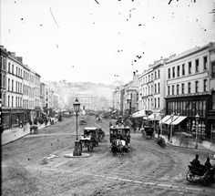 vintage everyday: Amazing Vintage Photos of Street Life of Ireland from the Century Old Pictures, Old Photos, Vintage Photographs, Vintage Photos, Cork City Ireland, Equestrian Statue, Kingdom Of Great Britain, Horse Drawn, 19th Century