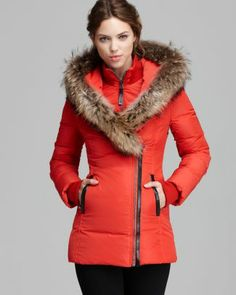 Mackage Down Coat - Adali Lavish Fur Trim Hood  Bloomingdale's