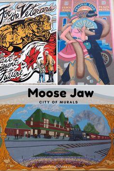 Moose Jaw en Saskatchewan, la ville d'Al Capone Al Capone, La Prohibition, Pvt Canada, Plaza Hotel, Moose, North America, Travel Tips, Street Art, English