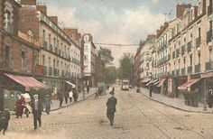 Nantes-Bas de la route de Rennes à Nantes