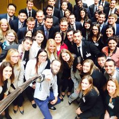 Moien newcomers! Will we EVER manage to fit you all on one picture? #DIYselfiestick #39JFK #KPMGWelcomeNewcomers
