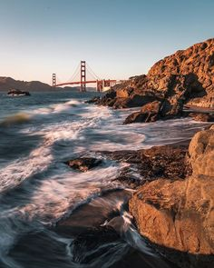 Golden Gate Bridge, New York City, United States, The Unit, America, Water, Travel, Outdoor, Water Water