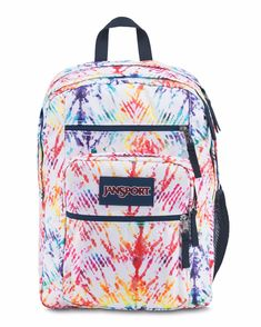 54bb9da04f3e JanSport Unisex Big Student Rainbow Tie-Dye Backpack