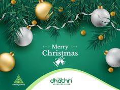 May the light of love shine upon you, and may your life be filled with blessings in this Christmas season. Dhathri Ayurveda Wishes you all Merry Christmas!!!  #Dhathri #ChristmasWishes #AyurvedaAlive