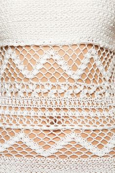 Body Crochet Iris Branco - Vanessa Montoro - vanessamontoro