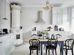 Classic and delicate interior