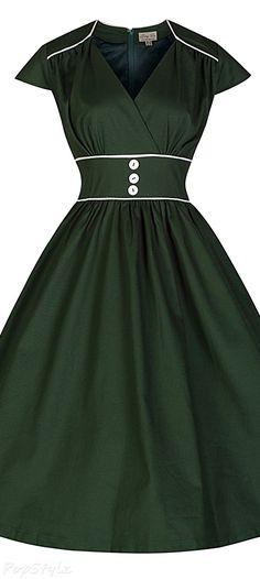 Lindy Bop 'Polly' Cute Vintage 50's Retro Swing Dress