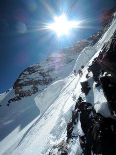 north face K2, mountain eight thousander