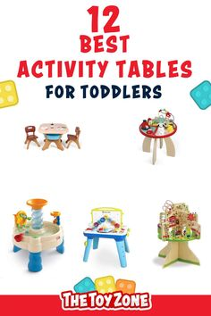 We have compiled a list of the 12 best toddler activity tables that came highly recommended by parents and showed no review manipulation. It is important for us to ensure that each activity table on this list is one of the best and promotes learning and helps them with various developmental skills. Each of these tables is designed for both boys and girls of toddler age and they are all made from high-quality, non-toxic materials for safety. Best Toddler Toys, Toddler Age, Best Kids Toys, Table Activities For Toddlers, Learning Activities, Activity Tables, Activity Centers, Cool Toys For Boys, Best Educational Toys