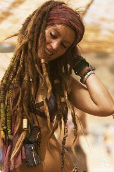 long dreads.