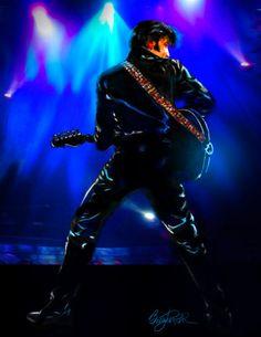 Elvis Art - Night Rider