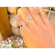 www.stylewanderer.com #jewellery #rings #silver #om