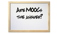 but what do you think? are MOOC the answer? or only a new step