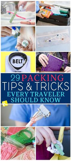 travel idea logo 29 Packing Tips amp; Tricks Every Traveler Should Know – The Kr… travel idea logo 29 Packing Tips amp; Tricks Every Traveler Should Know – The Krazy Coupon Lady Travel HERE — CLIC NOW — destinations bucket list tips New Travel, Packing Tips For Travel, Travel Essentials, Travel Usa, Travel Style, Travel Hacks, Travel Ideas, Travel Design, Travel Logo