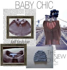 """BABY GIRL PONCHO"" by elizabethochoa90 on Polyvore"