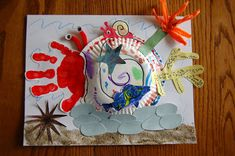 "We've continued our ocean-themed reading this week and on our list was another Eric Carle classic ""A House for Hermit Crab"". My kids LOVE this story! I love the fact that it gives a message that you should treat your friends with love and respect. If you aren't familiar with the story, a Hermit Crab …"