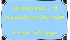 [IO2015] Je mémorise… au Cm1-Cm2 ! de Françoise Picot - Année 2 Cycle 3, How To Memorize Things, Education, School, Champions, Writing Words, Elementary Schools, Spelling, Reading