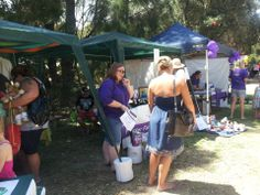 Sam networking at the Teddy Bears' Picnic (2013)