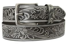 Men's Western Leather Belts Silver Leather Jeans, Grey Leather, Riddler, Western Belts, Leather Craft, Westerns, Silver, Accessories, Leather Pants