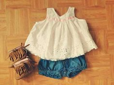 """boho baby with some """"beat up cutoffs"""" ;) must have this outfit Fashion Kids, Little Girl Fashion, Cute Babies, Baby Kids, Outfits Niños, Baby Outfits, Summer Outfits, Scarlett, Boho Baby"""