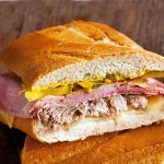Wolfgang Puck: Cuban Sandwich makes a generous meal Sandwich Cubano, Baguette Sandwich, Wolfgang Puck Recipes, Cuban Dishes, Cuban Cuisine, Tacos And Burritos, Cuban Recipes, Chapati, Wrap Sandwiches