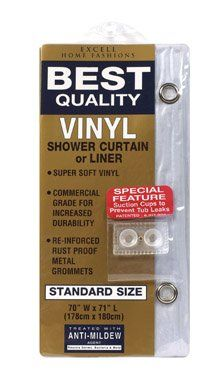 The Heavy Duty Shower Curtain is reminiscent of the great outdoors. #Made from 100% vinyl, this curtain is #treated with an anti-mildew agent and has the added fe...
