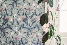 Mitt nya kök – jag föll för mönstret Thistle från In Bloom hos Boråstapeter