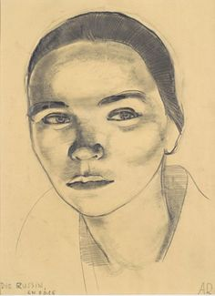 Anita Rée: Die Russin en face, 1926