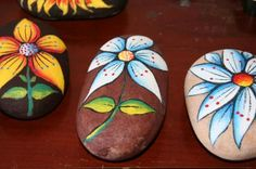 piedras decoradas - Buscar con Google