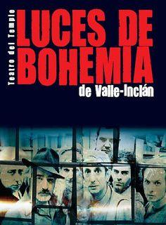 Luces de Bohemia es un esperpento(*) publicado por Valle-Inclán en 1924. Se trata de un esperpento trágico sobre la vida literaria en la sociedad española. Todo el esperpento tiene por fin destacar la decadencia y la imposibilidad de la vida literaria en la sociedad española. Valle-Inclán ironiza, satiriza y estiliza grotescamente la realidad.  (*) El esperpento es un género literario que presenta una visión deformada y grotesca de la realidad con el fin de criticar o satirizar.