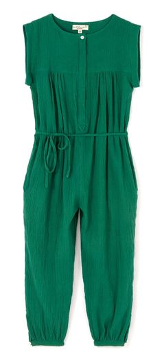 April Showers London Overall In Green | Scandinavian Minimall
