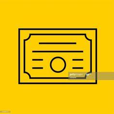 Diploma Icon Illustration #Ad, , #SPONSORED, #Diploma, #Icon, #Illustration Cool Designs, Company Logo, Ads, Logos, Illustration, Logo, Illustrations