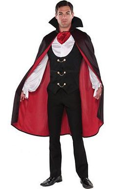 california costumes vampirkost m dracula schwarz silber. Black Bedroom Furniture Sets. Home Design Ideas